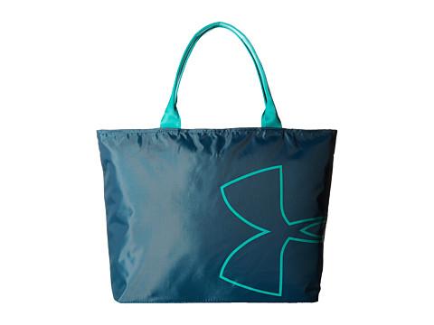 Under Armour UA Big Logo Tote - Marlin Blue/Absinthe Green/Absinthe Green