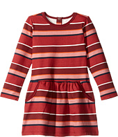 Pumpkin Patch Kids - Stripe Fleece Dress (Infant/Toddler/Little Kids/Big Kids)