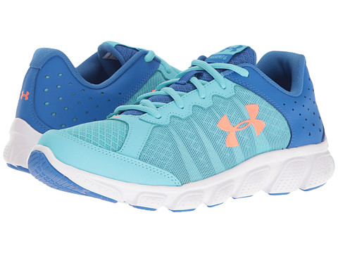 Under Armour Kids UA GGS Micro G™ Assert 6 (Big Kid) - Venetian/Mediterranean/London Orange