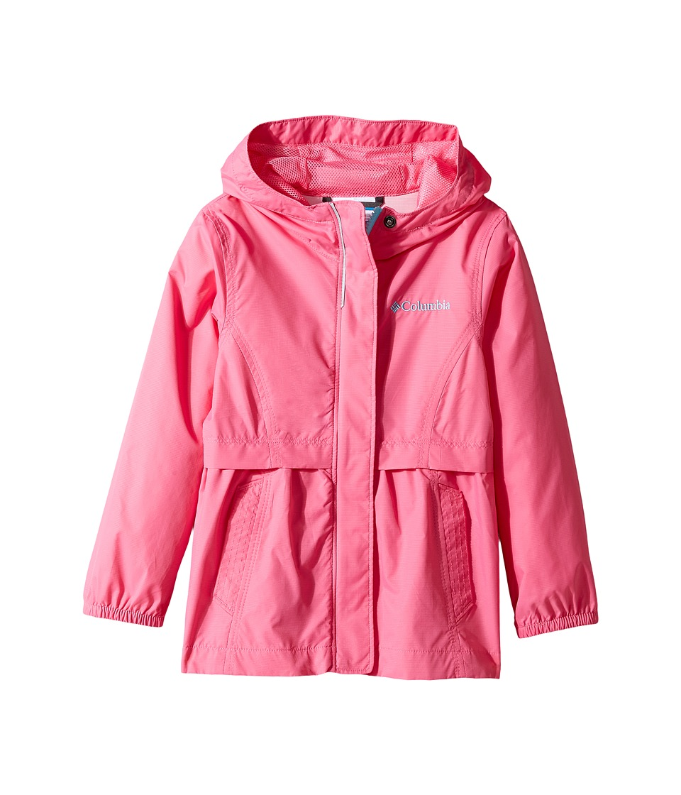 Columbia Kids Pardon My Trench Rain Jacket (Little Kids/Big Kids) (Wild Geranium) Girl