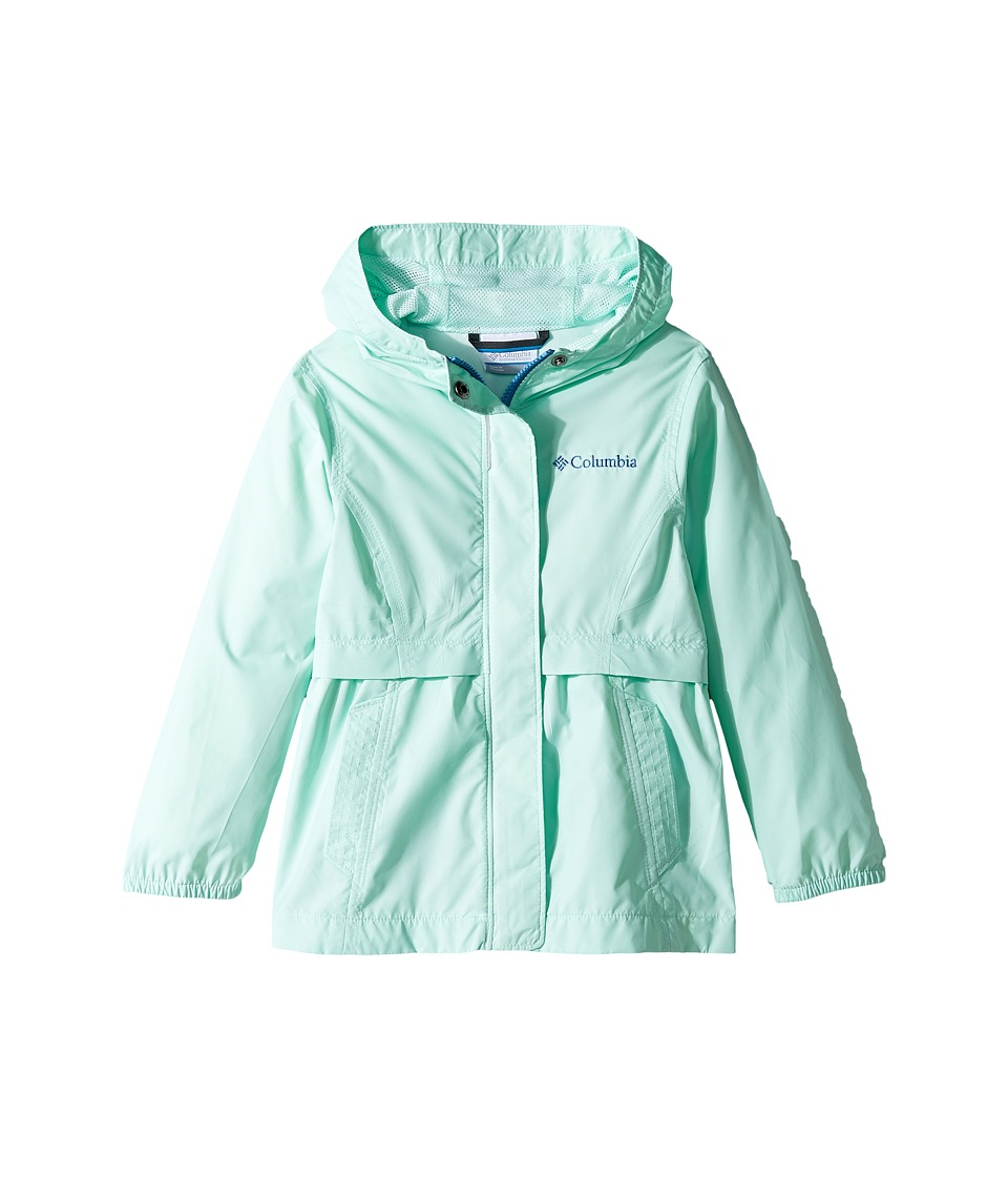 Columbia Kids Pardon My Trench Rain Jacket (Little Kids/Big Kids) (Sea Ice) Girl