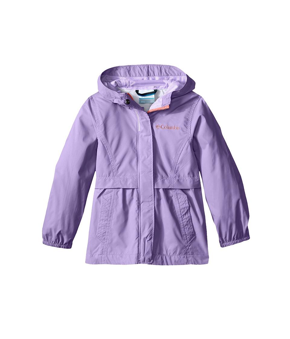 Columbia Kids Pardon My Trench Rain Jacket (Little Kids/Big Kids) (Paisley Purple) Girl