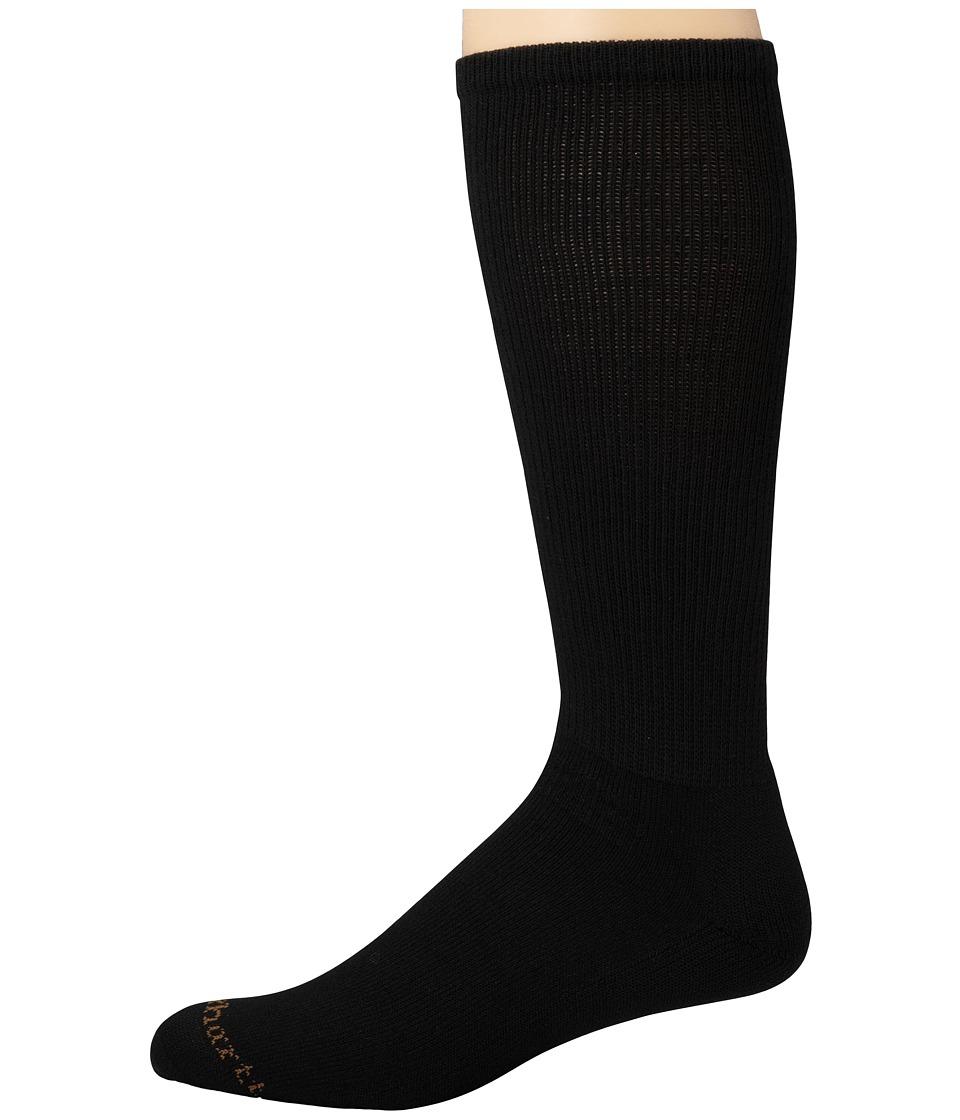 Carhartt Lightweight Western Boot Over-The-Calf Socks 1-Pair Pack (Black) Men