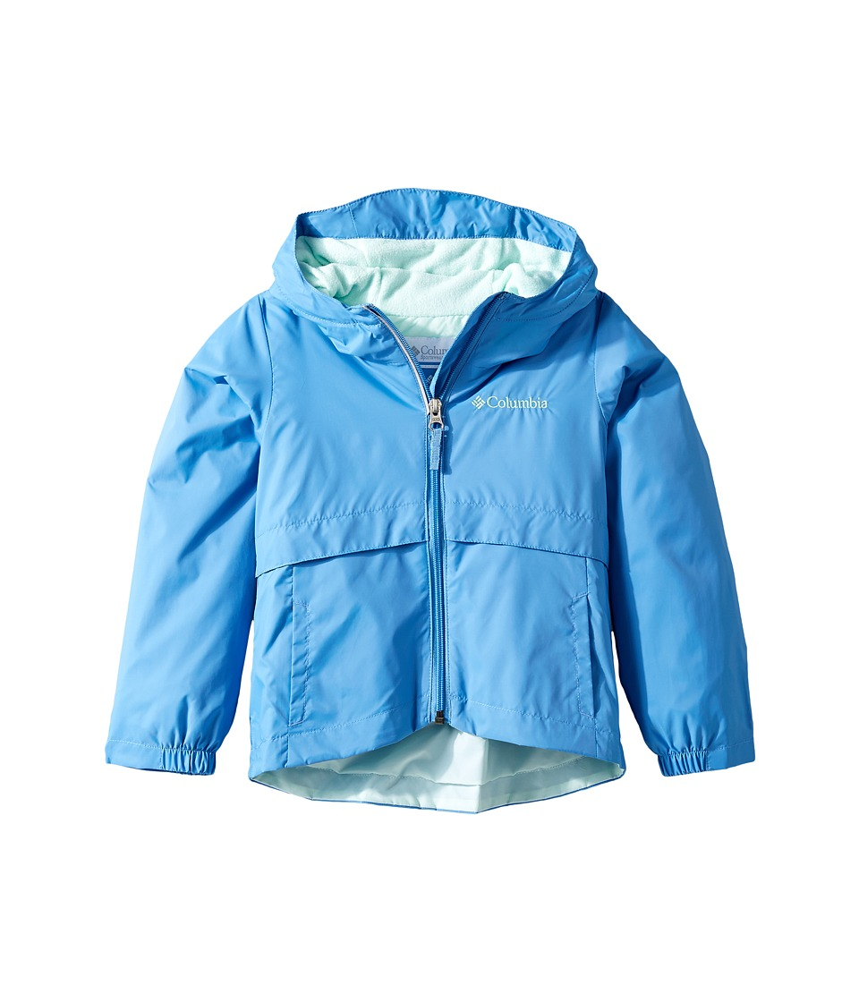 Columbia Kids Rain-Zilla Jacket (Little Kids/Big Kids) (Medieval/Sea Ice) Girl
