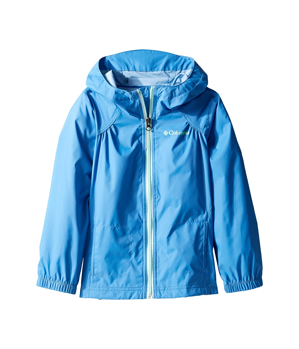 Columbia Kids Switchback Rain Jacket (Little Kids/Big Kids) (Medieval/Sea Ice) Girl