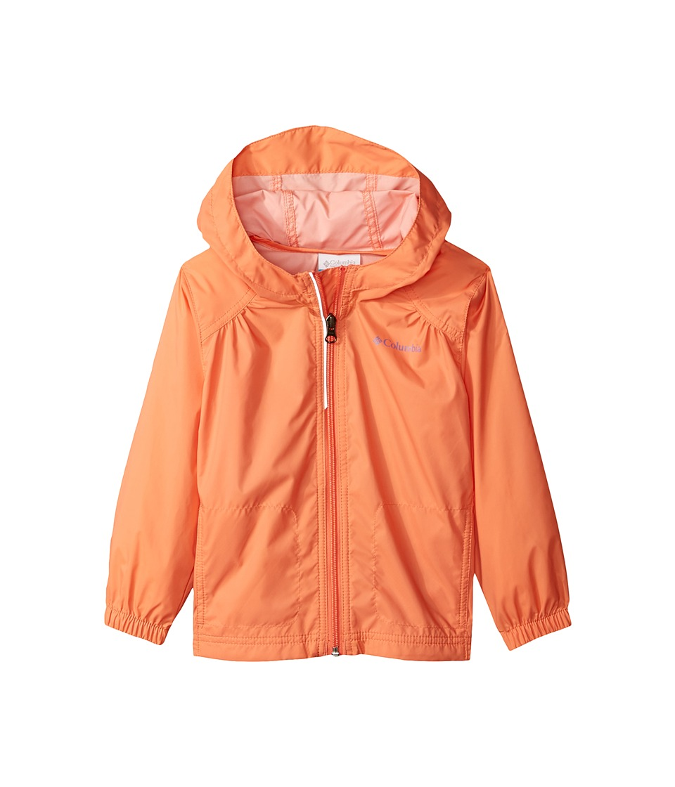Columbia Kids Switchback Rain Jacket (Little Kids/Big Kids) (Lychee/Paisley Purple) Girl
