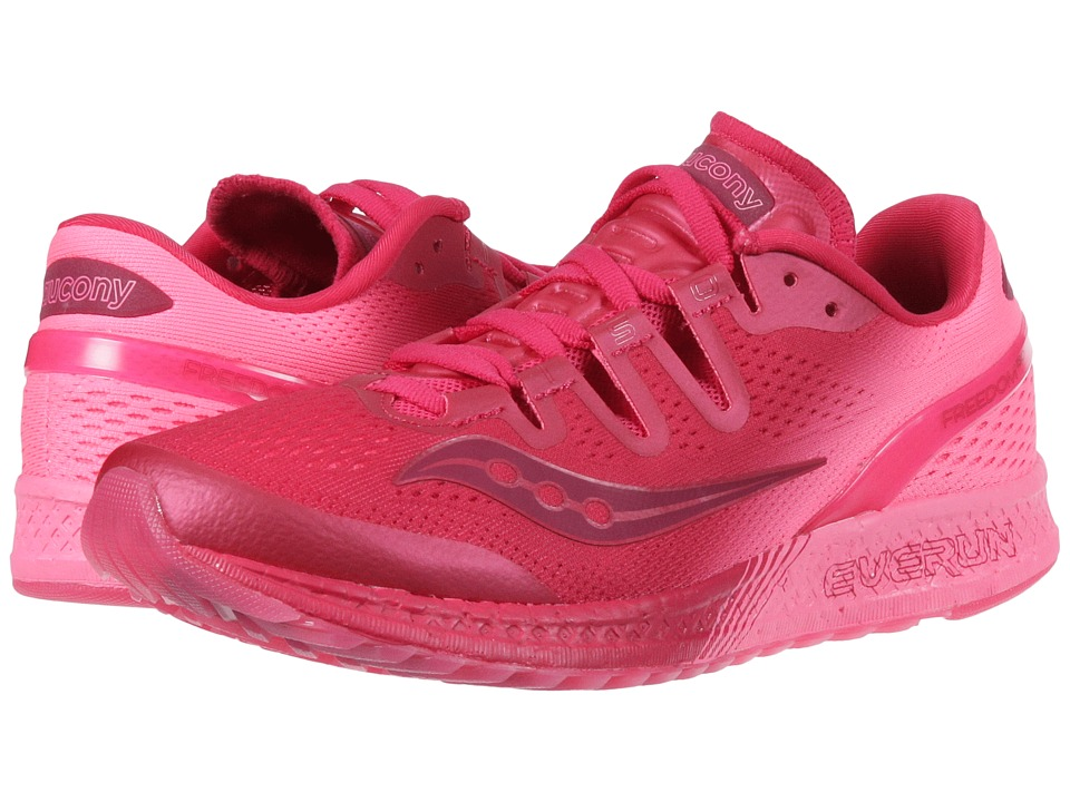 Saucony Freedom ISO (Berry/Pink) Women's Shoes