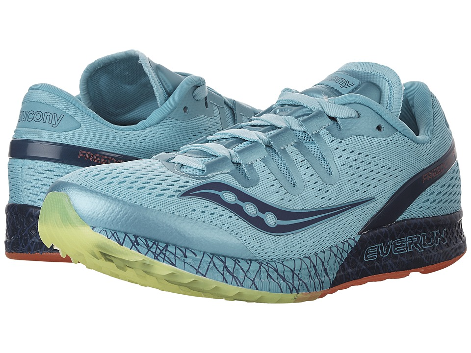 Saucony Freedom ISO (Blue/Citron) Women