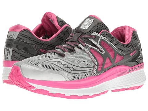 Saucony Hurricane ISO 3 - Grey/Pink/White
