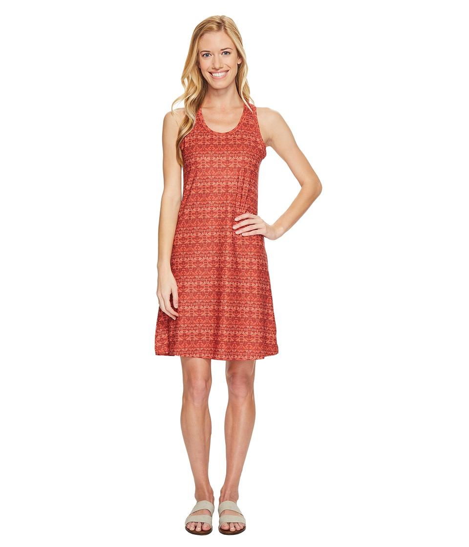 Columbia Saturday Trail II Knit Dress (Coral Arizona Print) Women