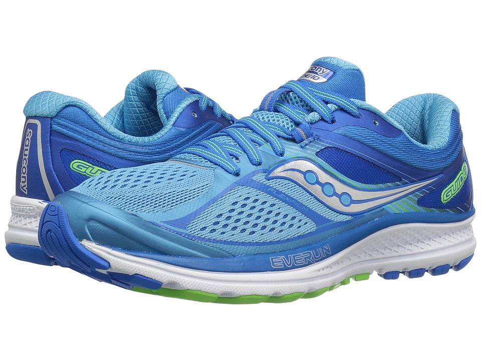 Saucony Guide 10 (Light Blue/Blue) Women