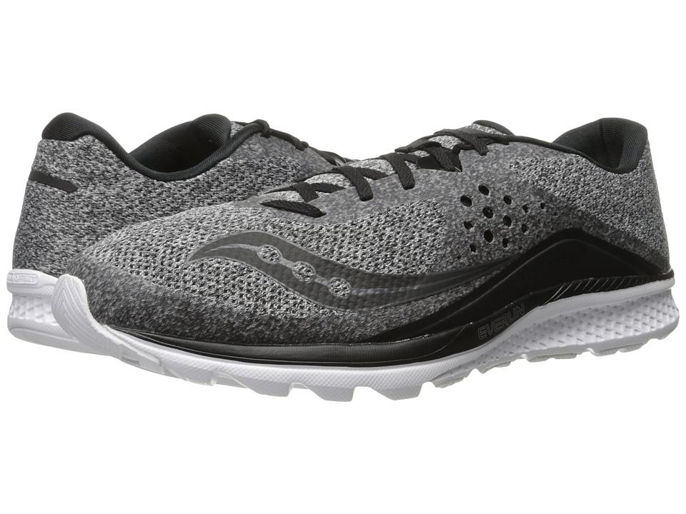 Saucony Kinvara 8 (Marl/Black) Men's Shoes