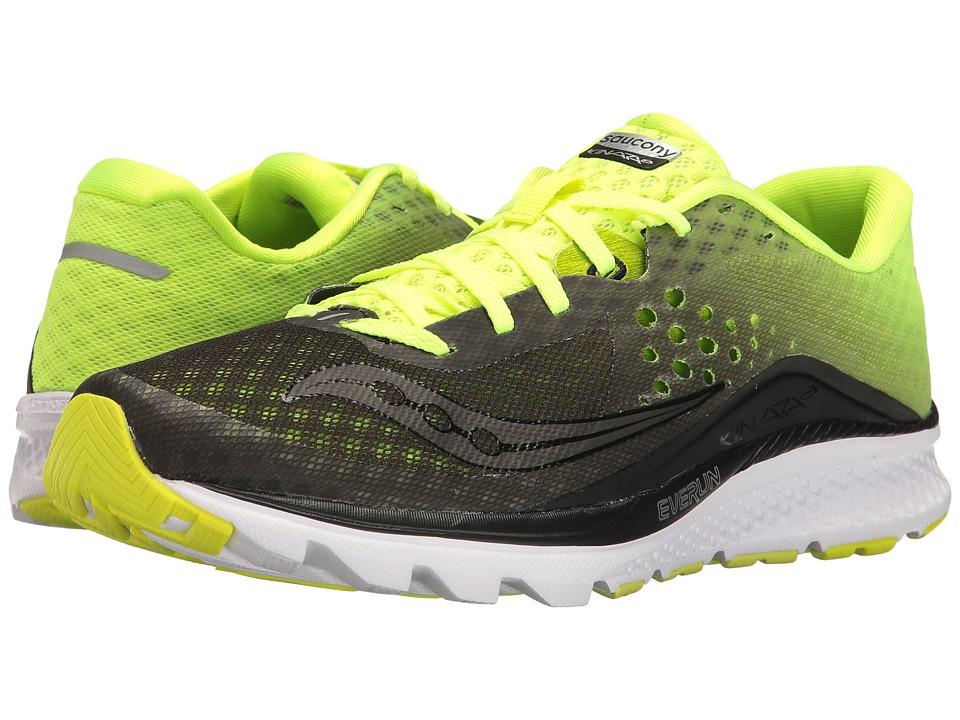Saucony Kinvara 8 (Black/Citron) Men's Shoes