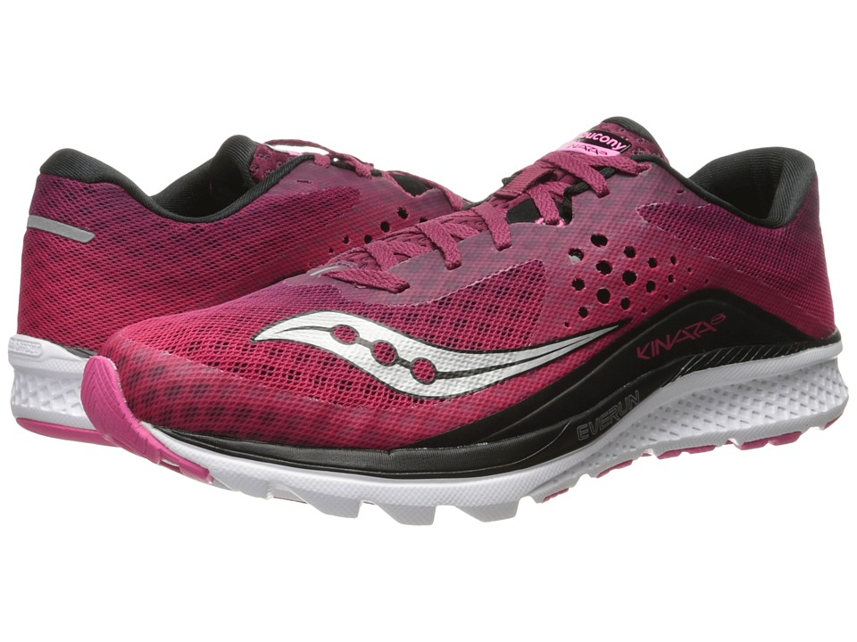 Saucony Kinvara 8 (Berry/Pink) Women's Shoes
