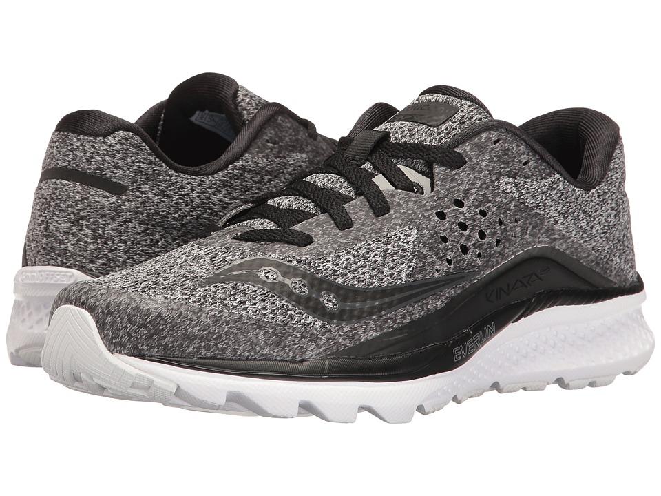 Saucony Kinvara 8 (Marl/Black) Women's Shoes