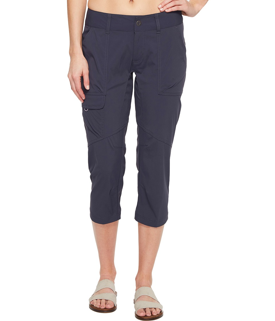 Columbia Silver Ridge Stretch Capri Pants (India Ink) Women