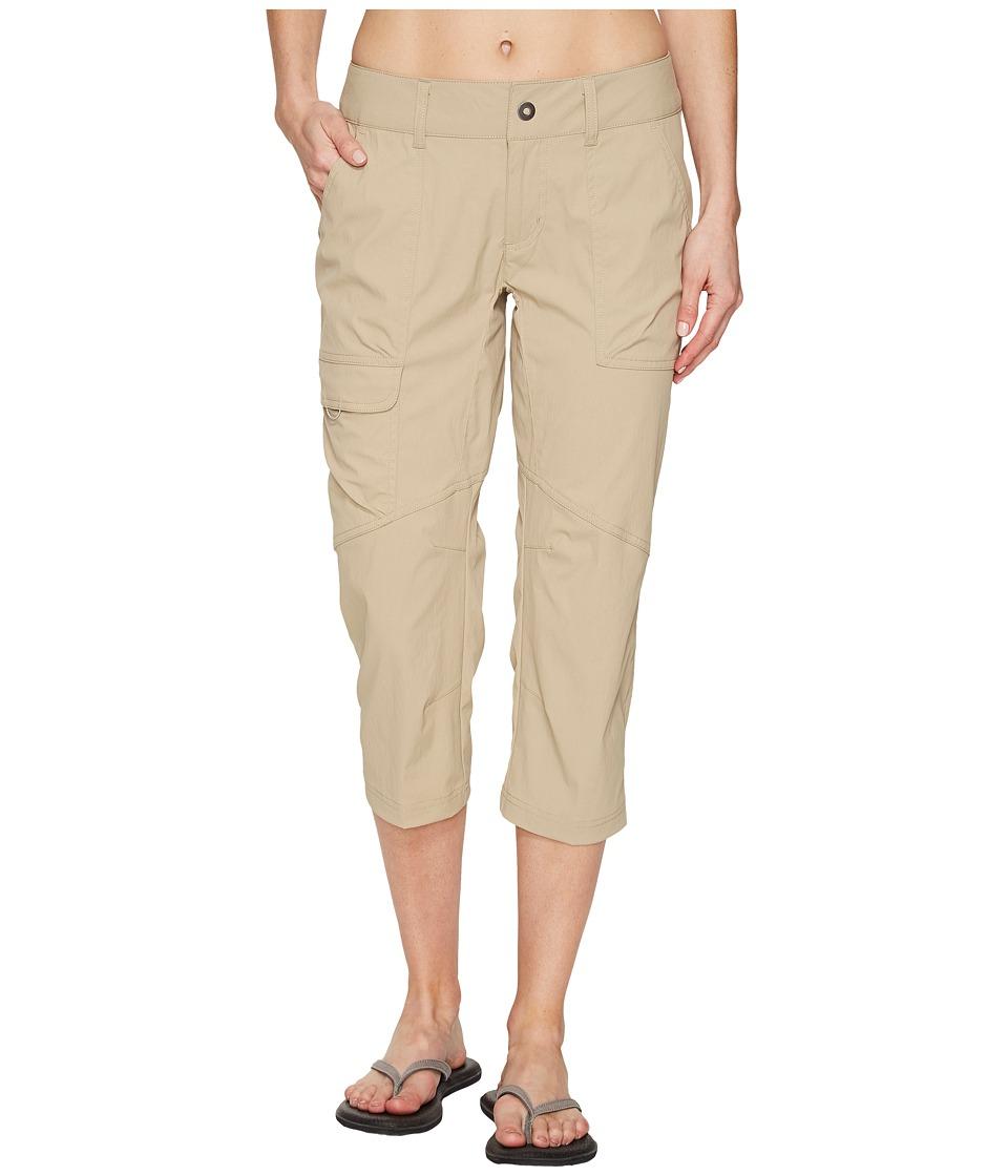 Columbia Silver Ridge Stretch Capri Pants (British Tan) Women