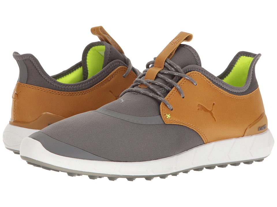PUMA Golf Ignite Spikeless Sport (Smoked Pearl/Cathay Spice) Men