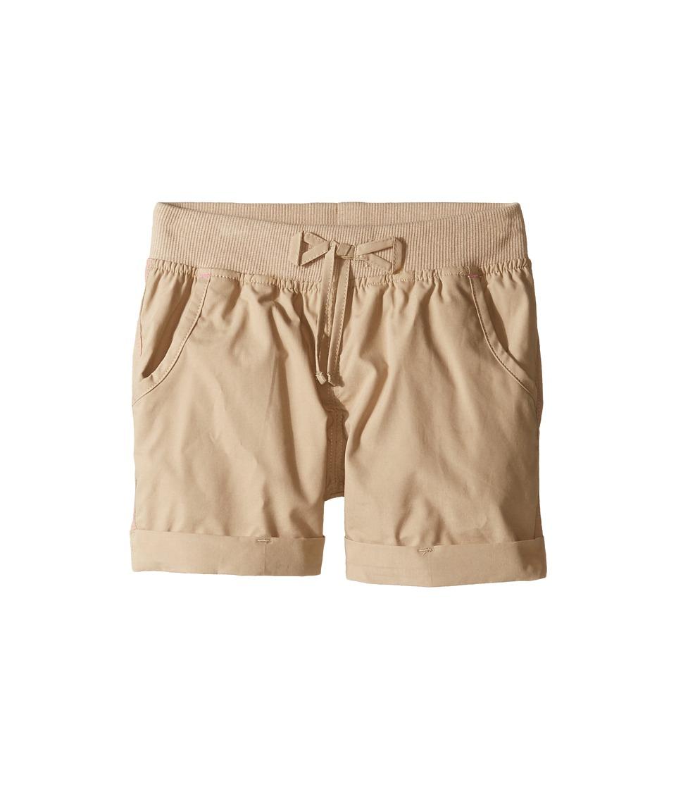Columbia Kids - 5 Oaks II Pull-On Shorts (Little Kids/Big Kids) (British Tan) Girls Shorts