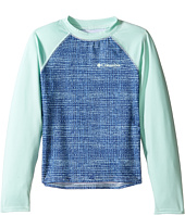 Columbia Kids - Mini Breaker Printed Long Sleeve Sunguard (Little Kids/Big Kids)