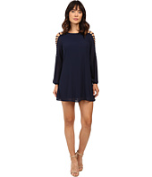 Brigitte Bailey - Sasha Strappy Long Sleeve Dress