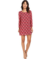 Brigitte Bailey - Drea 3/4 Sleeve Printed Dress
