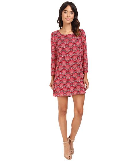 Brigitte Bailey Drea 3/4 Sleeve Printed Dress