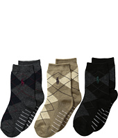 Polo Ralph Lauren - Argyle Slack 3-Pack (Infant/Toddler)
