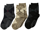Polo Ralph Lauren Argyle Slack 3-Pack (Infant/Toddler)
