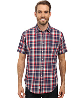 U.S. POLO ASSN. - Short Sleeve Classic Fit Plaid Poplin Sport Shirt