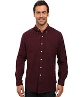 U.S. POLO ASSN. - Long Sleeve Solid Oxford Cloth Button Down Woven Shirt