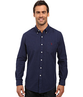 U.S. POLO ASSN. - Long Sleeve Solid Oxford Cloth Button Down Woven Shirt