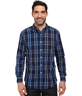 U.S. POLO ASSN. - Long Sleeve Plaid Peopling Button Down Woven Shirt