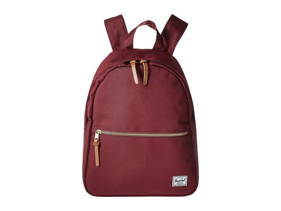 Herschel Supply Co. Town (Windsor Wine) Backpack Bags