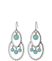 Lucky Brand - Turquoise Tribal Drop Earrings