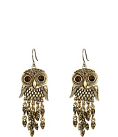 Lucky Brand - Owl Earrings