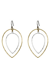 Lucky Brand - Two-Tone Fine Orbital Earrings