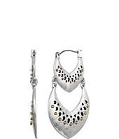 Lucky Brand - Double Spade Openwork Earrings
