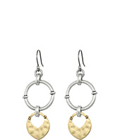 Lucky Brand - Two-Tone Dangle Earrings