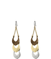 Lucky Brand - Tri-Tone Linear Dangle Earrings