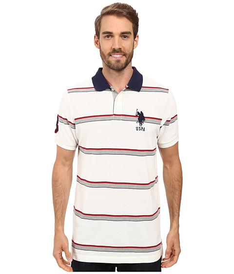 U.S. POLO ASSN. Shadow Striped Pique Polo Shirt