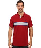 U.S. POLO ASSN. - Engineered Chest Stripe Pique Polo Shirt