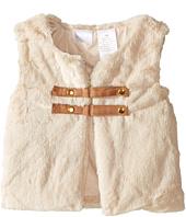 Kardashian Kids - Faux Fur Vest with Buckle Closure (Infant)