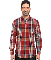 U.S. POLO ASSN. - Long Sleeve Classic Fit Button Down Plaid Sport Shirt