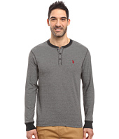 U.S. POLO ASSN. - Long Sleeve Henley Pullover