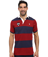 U.S. POLO ASSN. - Short Sleeve Rugby Stripe Polo Shirt