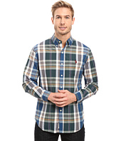 U.S. POLO ASSN. - Long Sleeve Classic Fit Plaid Poplin Button Down Sport Shirt