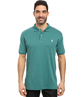 U.S. POLO ASSN. - Solid Interlock Polo