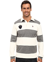 U.S. POLO ASSN. - Heavy Weight Jersey Classic Rugby Polo Shirt