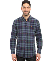 U.S. POLO ASSN. - Long Sleeve Classic Fit Plaid Slub Oxford Cloth Sport Shirt